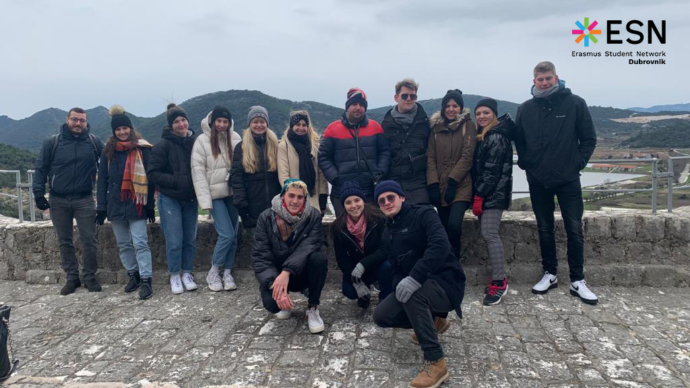 Erasmus studenti-izlet u Ston